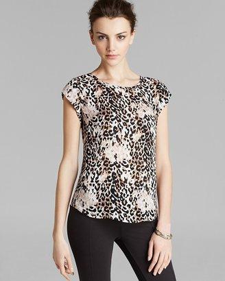 Joie Top - Rancher Leopard Silk