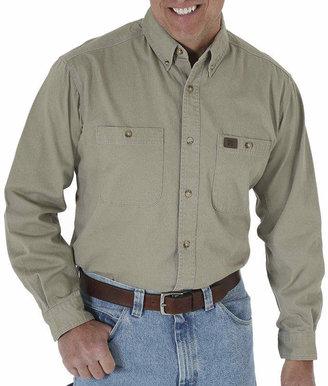 Wrangler Riggs Workwear by Twill Work Shirt