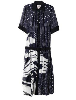 Preen By Thornton Bregazzi Fallon-print georgette dress