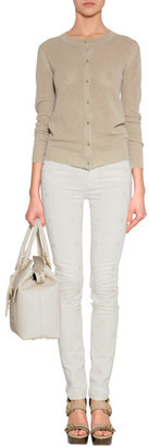 Marc by Marc Jacobs Bright White Dot Skinny Jeans
