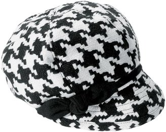 Woman Within Houndstooth Newsboy by San Diego Hats®