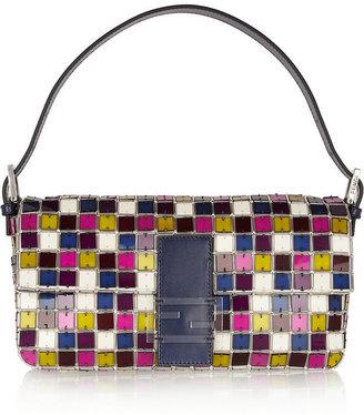 Fendi Baguette Crystal and Perspex Shoulder Bag