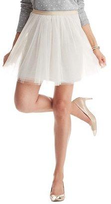 LOFT Petite Tulle Skirt