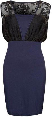 Even&Odd Jersey dress blue