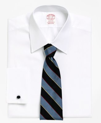 Brooks Brothers Madison Classic-Fit Dress Shirt, Tennis Collar French Cuff