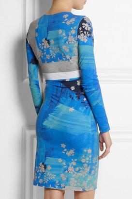 Preen by Thornton Bregazzi Iris printed stretch-jersey dress