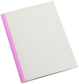 Container Store Orchid Mini Notebook