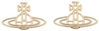 Vivienne Westwood Thin Lines Flat Orn Stud Earrings Earring