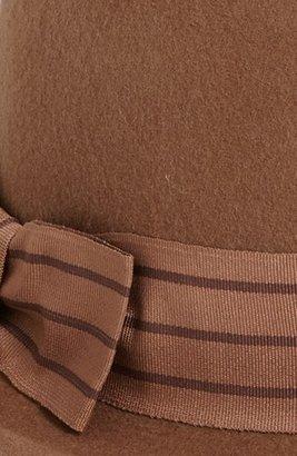 August Hat 'Stripes Ahead' Wool Felt Fedora