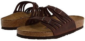 Birkenstock Granada Soft Footbed (Habana Oiled Leather) Women's Sandals