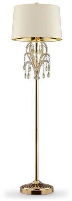 Unbranded 62 in. Amoruccio Crystal Gold Floor Lamp