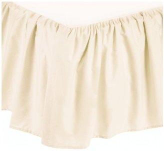 American Baby Company 100% Cotton Mini Crib Dust Ruffle - Ecru