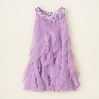 Children's Place Rosette cascade dress