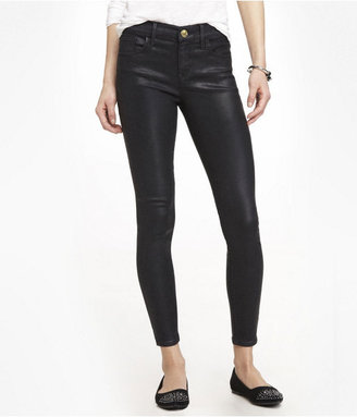Express Mia Coated Ankle Jean Legging