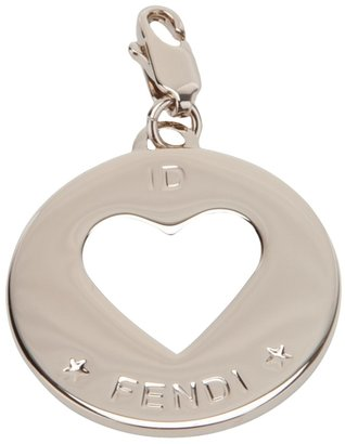 Fendi heart pendant