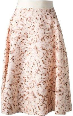 Giambattista Valli floral print skirt