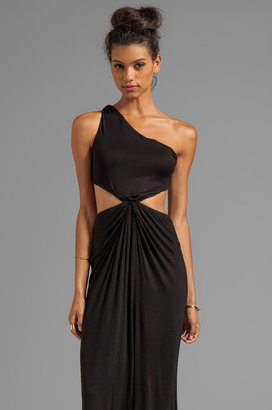 Naven Casuals Twisted Cutout Dress