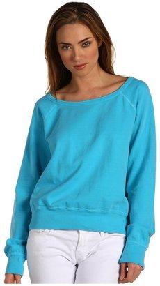 TEXTILE Elizabeth and James The Perfect Sweatshirt (Aqua Glow) - Apparel