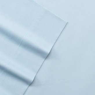 Apt. 9 solid 220-thread count fitted sheet - queen