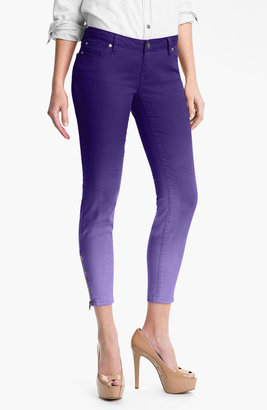 Jessica Simpson 'Kiss Me' Zip Ankle Twill Skinny Jeans (Online Exclusive)