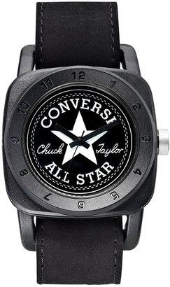Converse Watch, Unisex 1908 Premium Black Suede Strap 43mm VR026-005