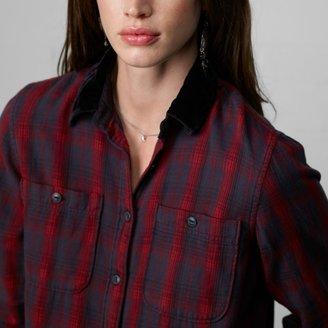 Denim & Supply Ralph Lauren Velvet-Collar Utility Shirt