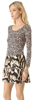 Diane von Furstenberg Kay Printed Dress