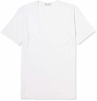 Sunspel Superfine Cotton Underwear T-Shirt $75 thestylecure.com