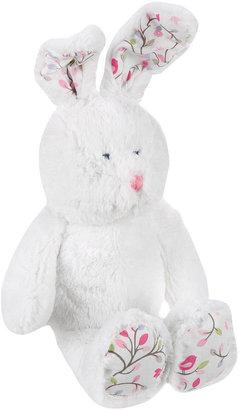 Triboro Quilt Mfg Co Just Born 12 inch Chloe Bunny Plush - White