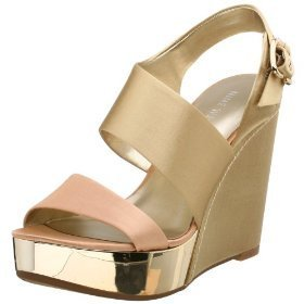 Nine West Women's Newtime Platform Sandal