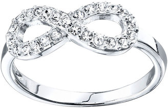JCPenney Bridge Jewelry Footnotes Sterling Silver Infinity Ring