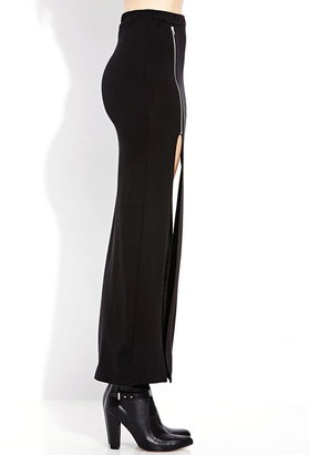 Forever 21 Show Out M-Slit Maxi Skirt