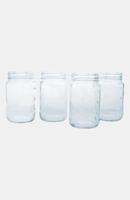 Cathy's Concepts Monogram Glass Mason Jars