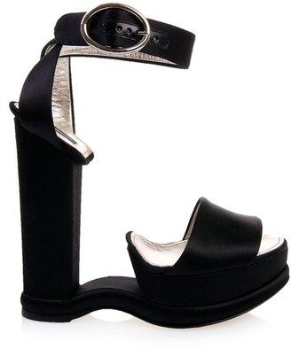 Dolce & Gabbana Satin conceptual sandals