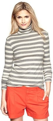Gap Supersoft striped turtleneck