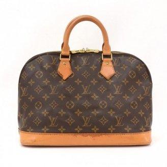 Louis Vuitton very good (VG) Vintage Brown Monogram Canvas Alma Handbag