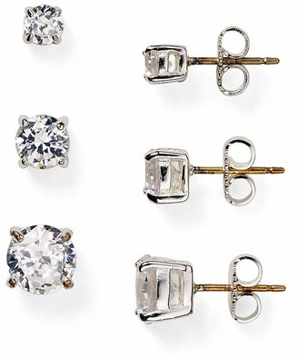 Carolee Small Cubic Zirconia Stud Earrings