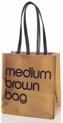Bloomingdale's Medium Brown Bag - 100% Exclusive