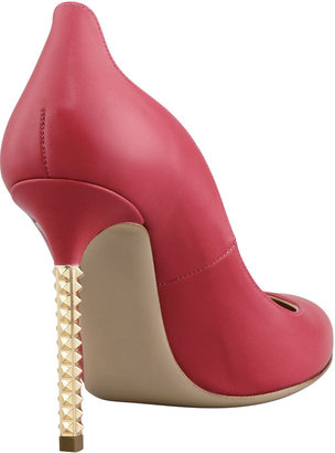 Valentino Extreme Heel Nappa Pump, Cyclamin