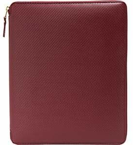Comme des Garcons Men's Luxury Tablet Case-Wine