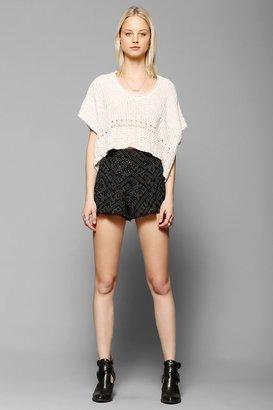 Urban Outfitters Ecote Pompom-Trim Breezy Short