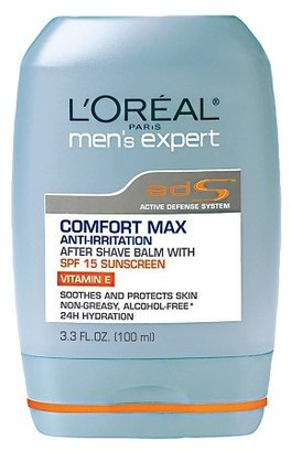 L'Oreal Men's Expert Comfort Max Anti-Irritation After Shave Balm with SPF 15 Sunscreen
