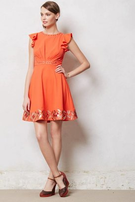 Anthropologie Embroidered Santri Dress