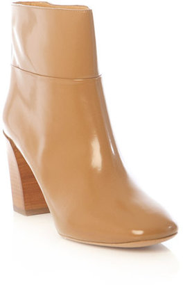 Chloé Wooden heel ankle boots