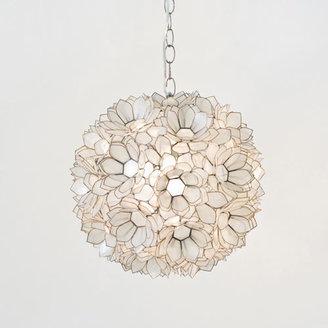 Mila Pendant Lamp in Lotus White