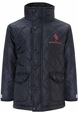 Unbranded Howell's School Girls' Quilted Jacket, Navy