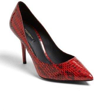 Dolce & Gabbana 'Elaphe' Snakeskin Pump