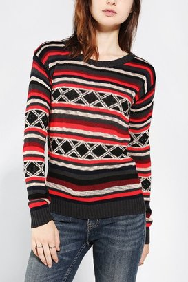Urban Outfitters Lucca Couture Bright Stripes Sweater