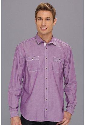 Scott James - Finn 13 L/S Shirt (Brown) - Apparel