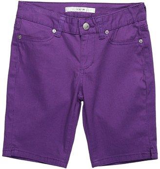Joe's Jeans Girls' Mini Short (Big Kids) (Purple) - Apparel